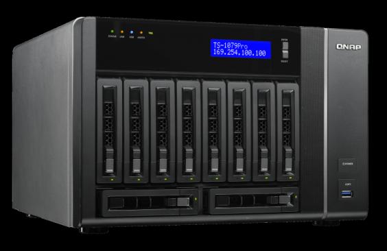 QNAP TS-1079 Turbo NAS QTS Treiber Windows 7