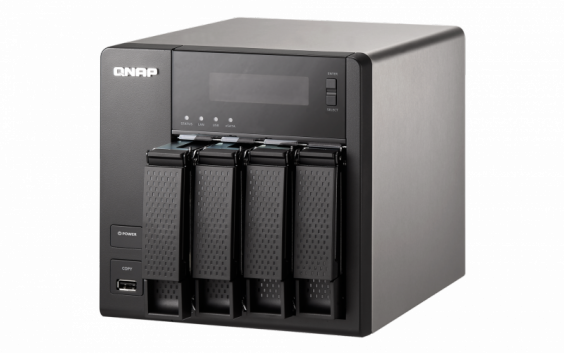 QNAP TS-421 Turbo NAS QTS Mac