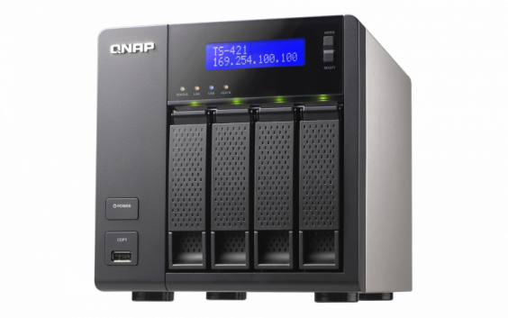 QNAP TS-421 Turbo NAS QTS Windows