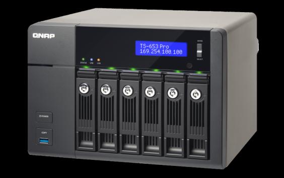 QNAP TS-653Pro TurboNAS QTS Drivers Windows