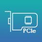 Два слота PCIe для гибкого расширения возможностей