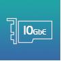 Сетевой интерфейс 1 х 10 Гбит RJ45