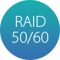 Доступность RAID 50/60