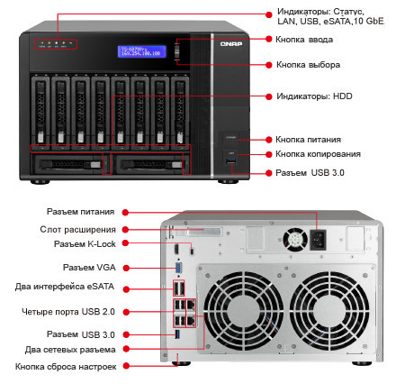 QNAP TS-1079 Pro Turbo NAS QTS Drivers for PC