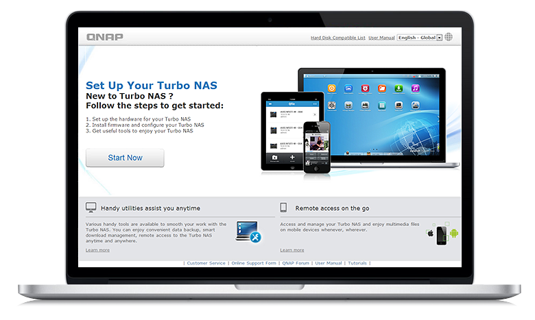 QNAP TS-109Pro TurboNAS QTS Driver for Windows Mac